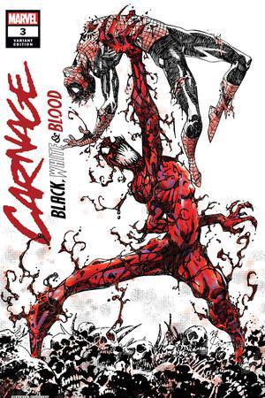 Carnage: Black, White & Blood (2021) #3 (Variant)