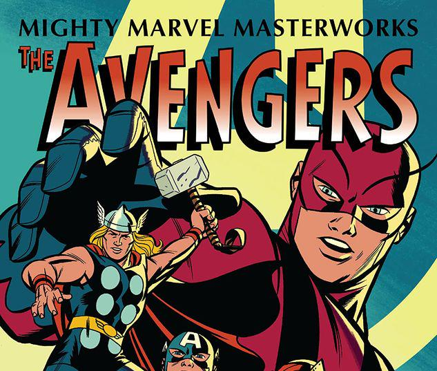 MIGHTY MARVEL MASTERWORKS: THE AVENGERS VOL. 1 - THE COMING OF THE AVENGERS GN-TPB MICHAEL CHO COVER #1