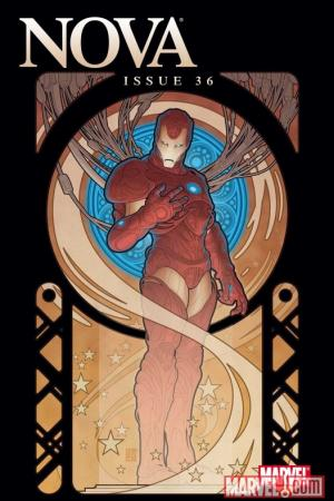 Nova (2007) #36 (IRON MAN BY DESIGN VARIANT)