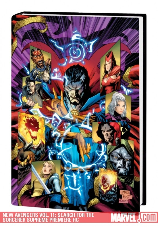 New Avengers Vol. 11: Search for the Sorcerer Supreme (Hardcover)