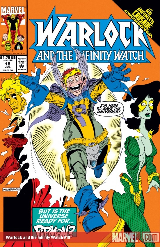 Warlock and the Infinity Watch (1992) #18
