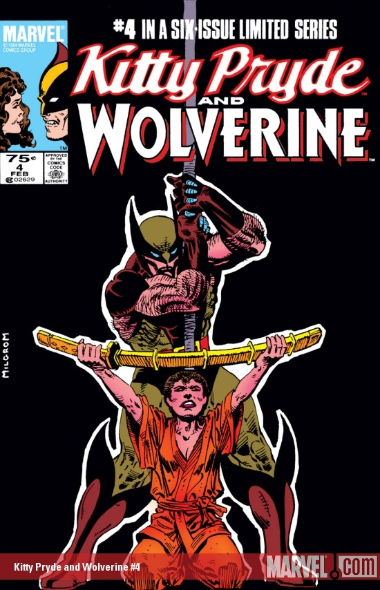 Kitty Pryde and Wolverine (1984) #4