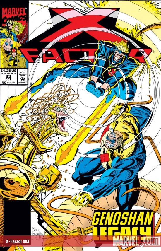 X-Factor (1986) #83