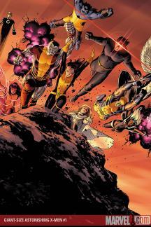 Giant-Size Astonishing X-Men Poster (2008)