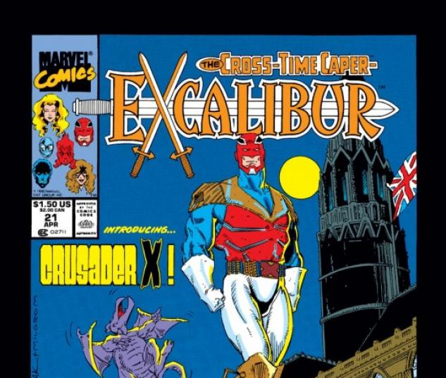 EXCALIBUR #21 COVER