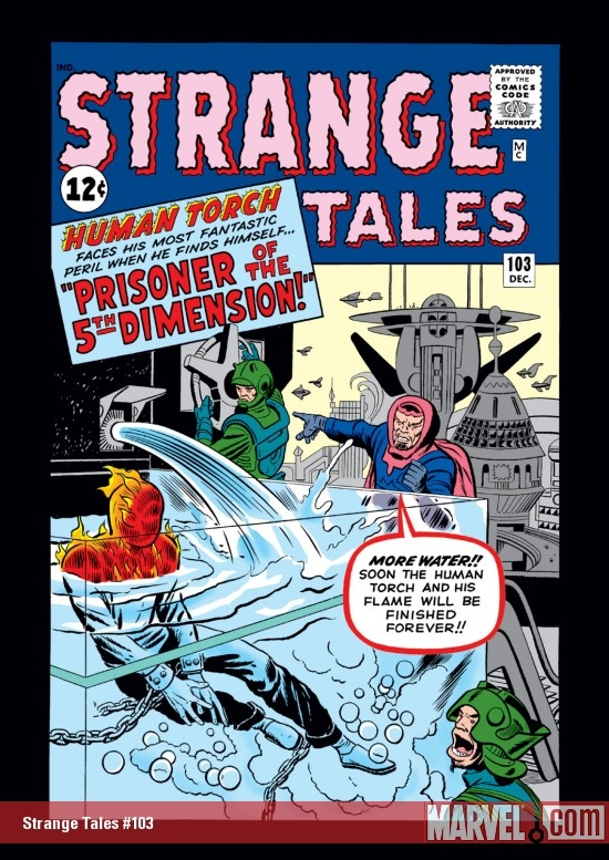 Strange Tales (1951) #103