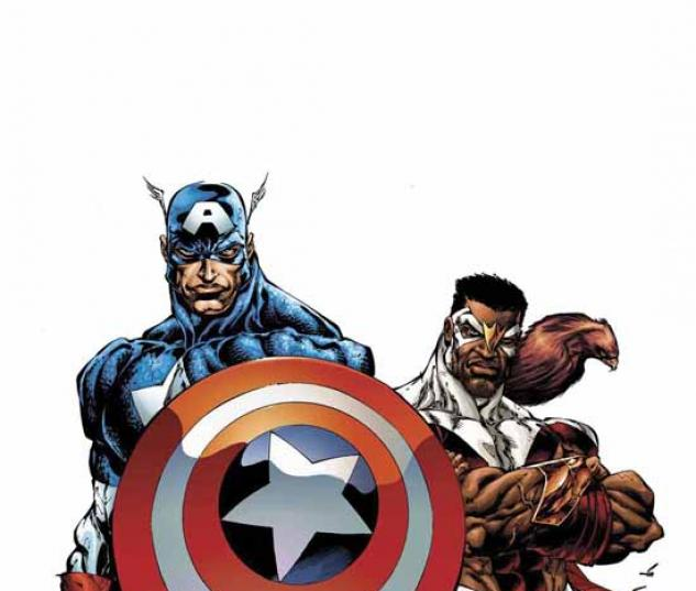 CAPTAIN AMERICA & THE FALCON VOL. 1: TWO AMERICAS TPB COVER