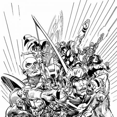 AVENGERS FINALE (1999) #1 COVER
