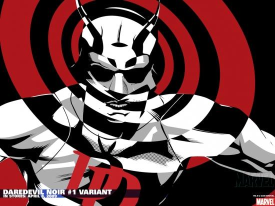Daredevil Noir #1 variant cover by Dennis Calero