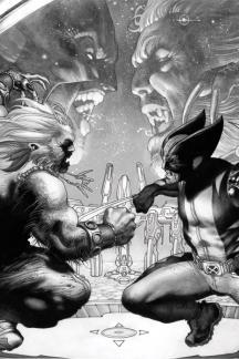Wolverine #50  (Black and White Variant)