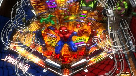 Marvel Pinball Spider-Man Table Screenshot