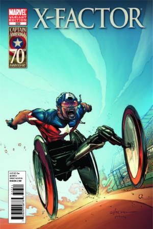 X-Factor #222  (I Am Captain America Variant)
