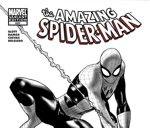 Amazing Spider-Man (1999) #669, Architect Sketch Variant