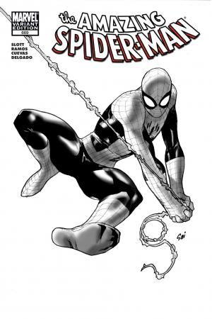 Amazing Spider-Man #669  (Architect Sketch Variant)