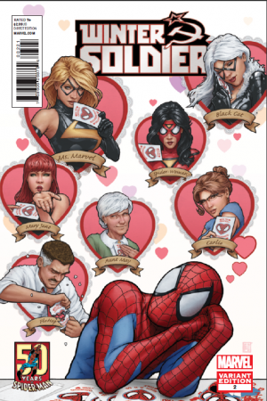 Winter Soldier #2  (Asm 50th Anniversary Variant)