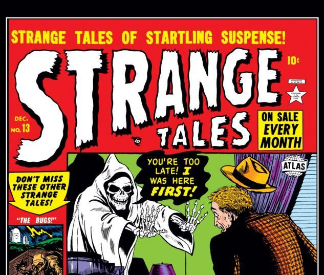 Strange Tales (1951) #13 Cover