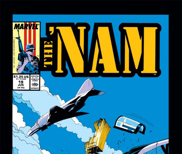 The 'Nam (1986) #19 Cover
