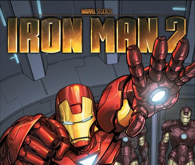 Target Iron Man 2 Custom Comic (2010) #1 Cover