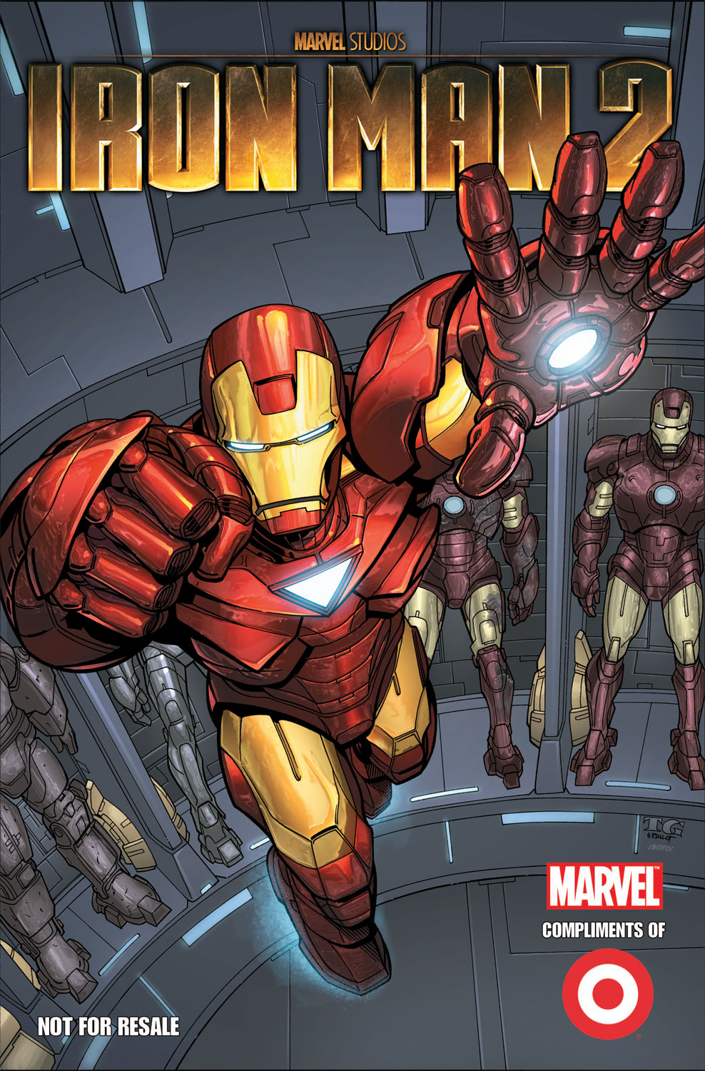 TARGET IRON MAN CUSTOM COMIC (2010) #1