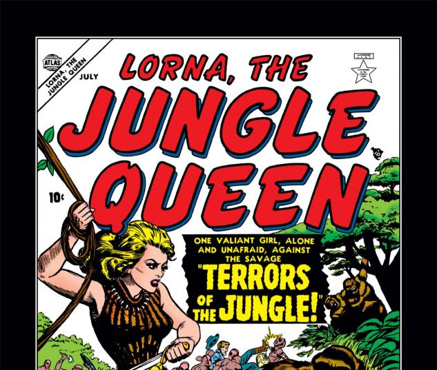 Lorna the Jungle Queen (0000) #1 Cover