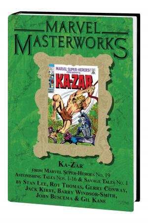 MARVEL MASTERWORKS: KA-ZAR VOL. 1 HC VARIANT (DM ONLY) (Hardcover)