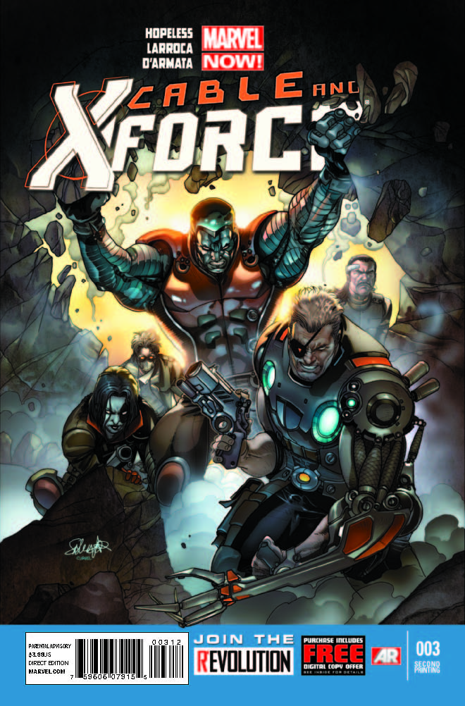 Cable and X-Force (2012) #3 (2nd Printing Variant)