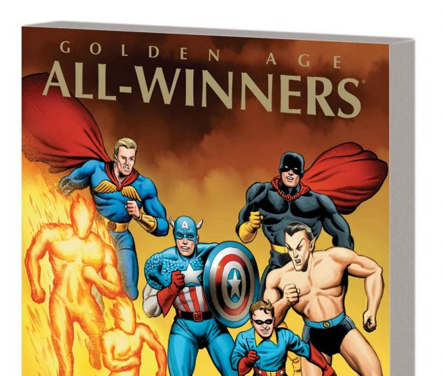 MARVEL MASTERWORKS: GOLDEN AGE ALL-WINNERS VOL. 1 TPB