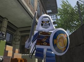 Taskmaster in LEGO Marvel Super Heroes