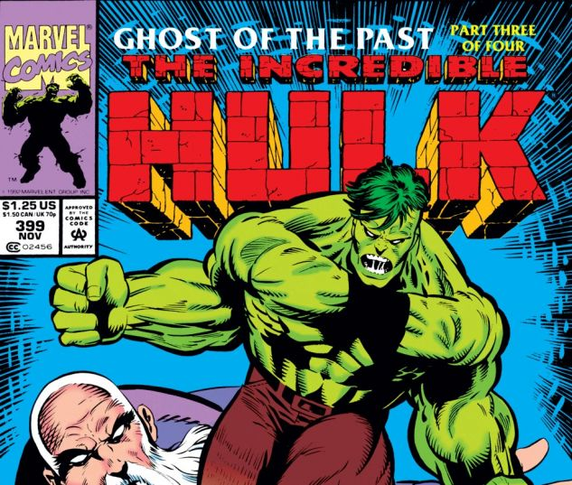 Incredible Hulk (1962) #399 Cover