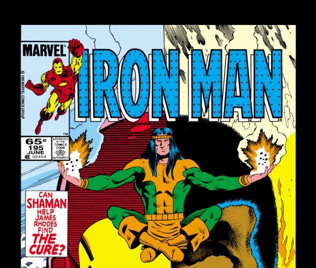 Iron Man (1968) #195 Cover