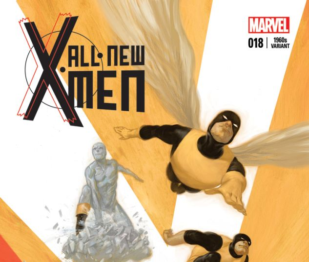 ALL-NEW X-MEN 18 TEDESCO 60S VARIANT (WITH DIGITAL CODE)