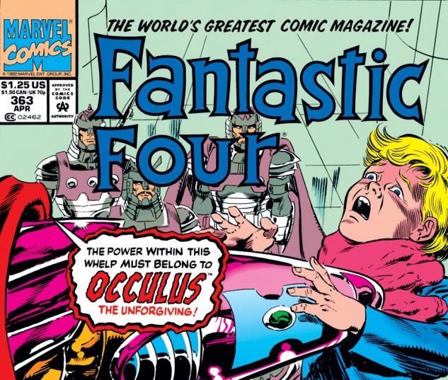 Fantastic Four (1961) #363 Cover