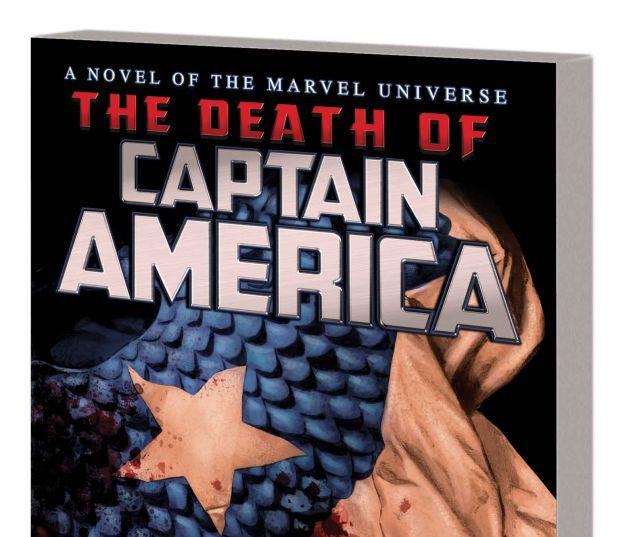CAPTAIN AMERICA: THE DEATH OF CAPTAIN AMERICA PROSE NOVEL HC