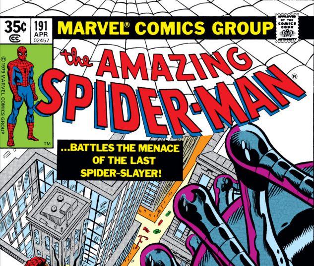 Amazing Spider-Man (1963) #191 Cover