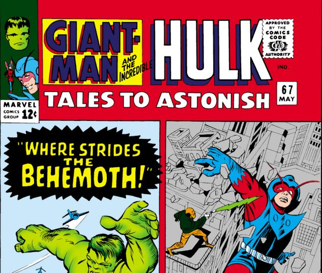 Tales to Astonish (1959) #67 Cover