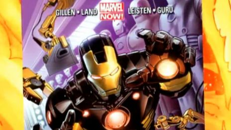 Marvel AR: Iron Man #1 Cover Recap