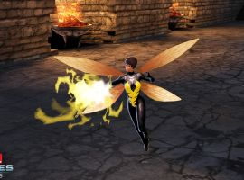 The Wasp takes flight in Marvel heroes 2015
