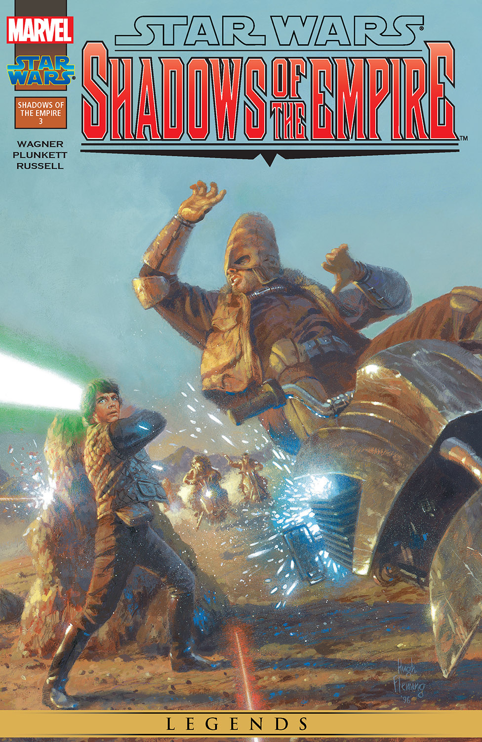 Star Wars: Shadows of the Empire (1996) #3