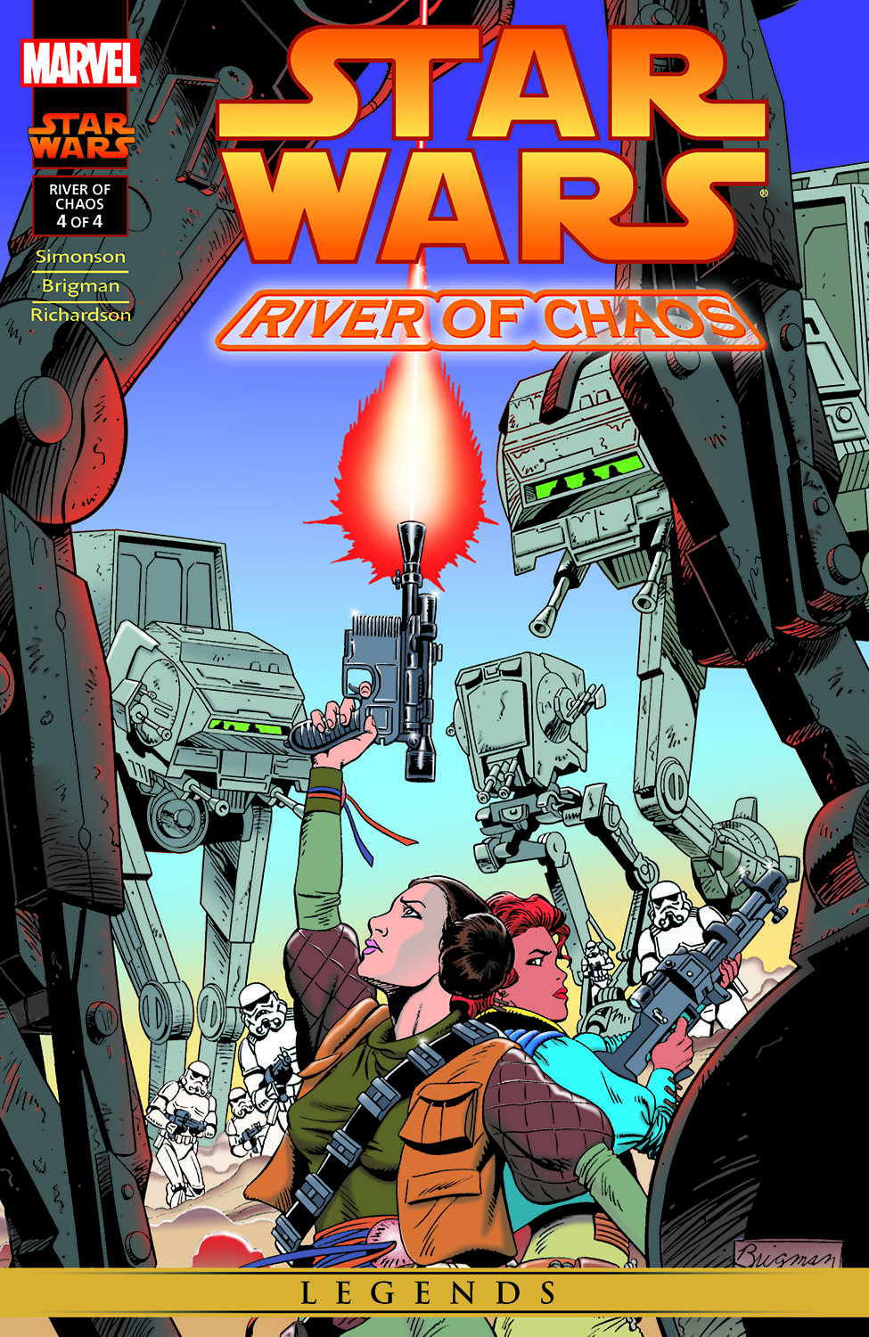 Star Wars: River Of Chaos (1995) #4