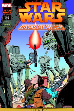 Star Wars: River Of Chaos #4