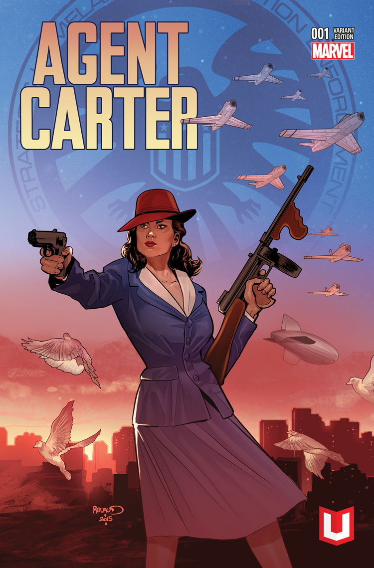 Agent Carter: S.H.I.E.L.D. 50th Anniversary (2015) #1 (Renaud Mu Plus Variant)