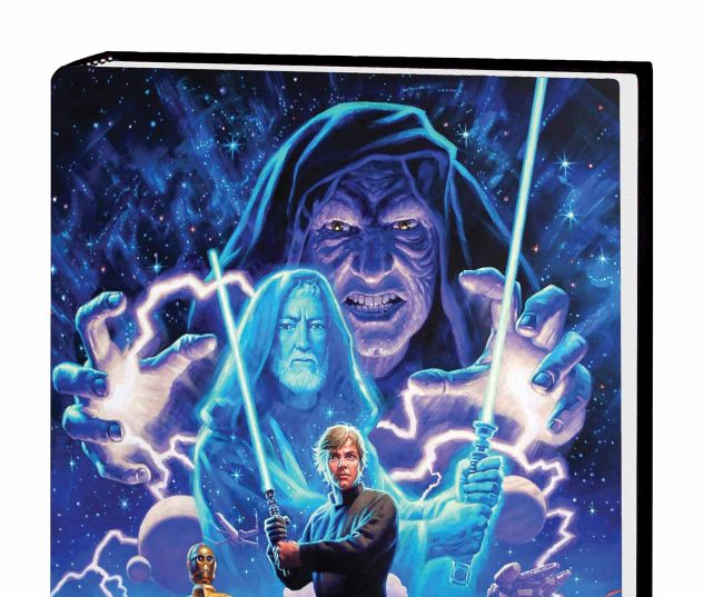 STAR WARS: THE ORIGINAL MARVEL YEARS OMNIBUS VOL. 3 HC HILDEBRANDT COVER (DM ONLY)