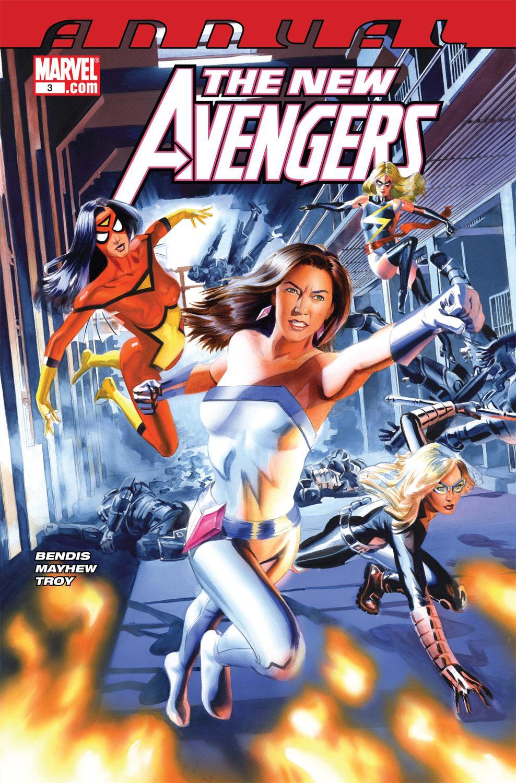 New Avengers Annual (2009) #3