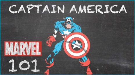 Captain America - MARVEL 101