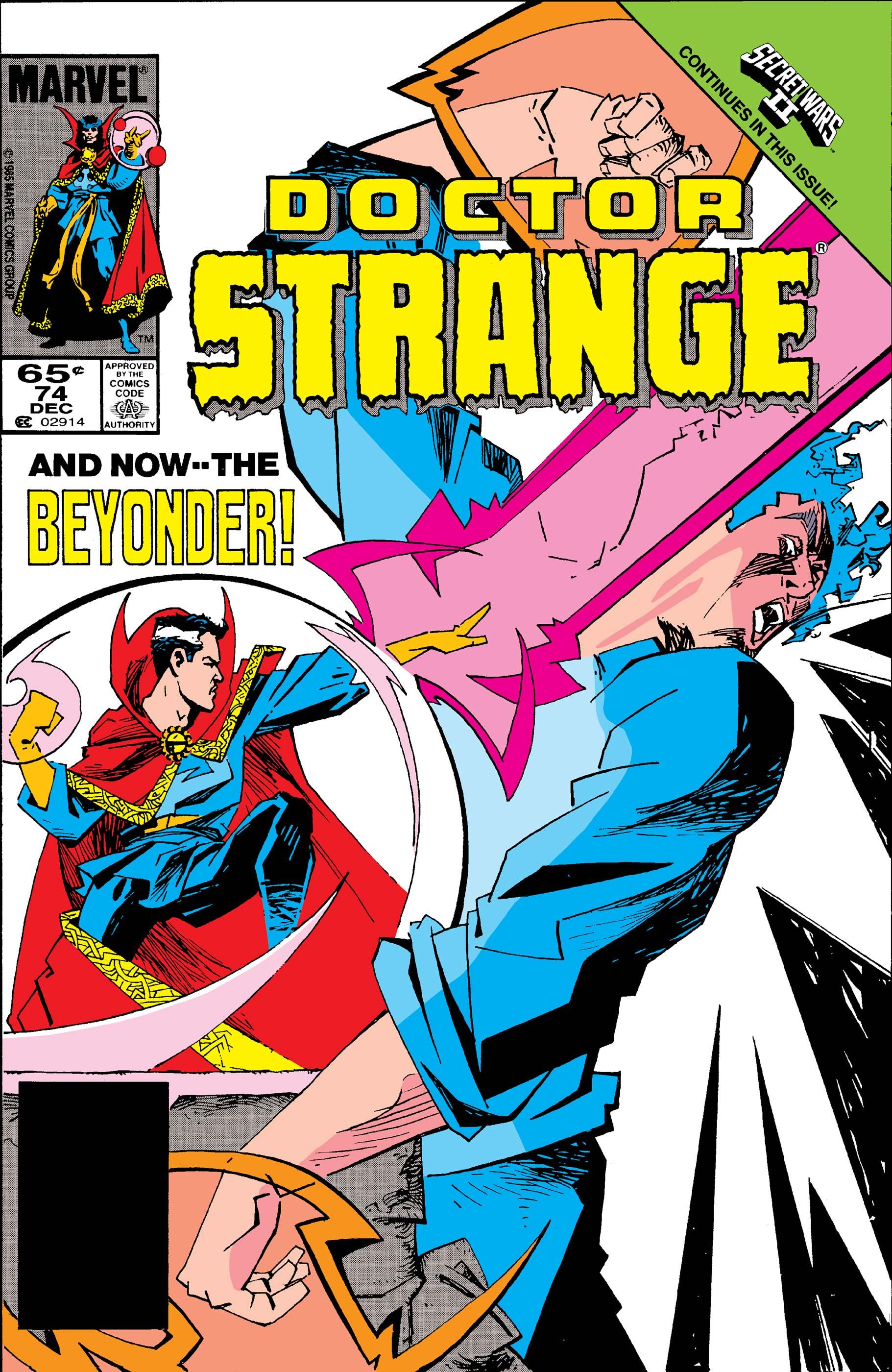 Doctor Strange (1974) #74