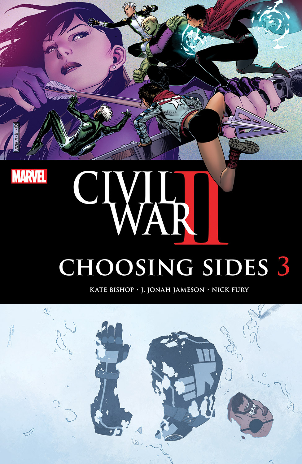 Civil War II: Choosing Sides (2016) #3