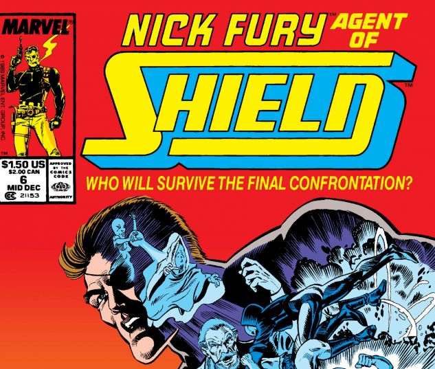 Nick Fury, Agent of Shield (1989) #6
