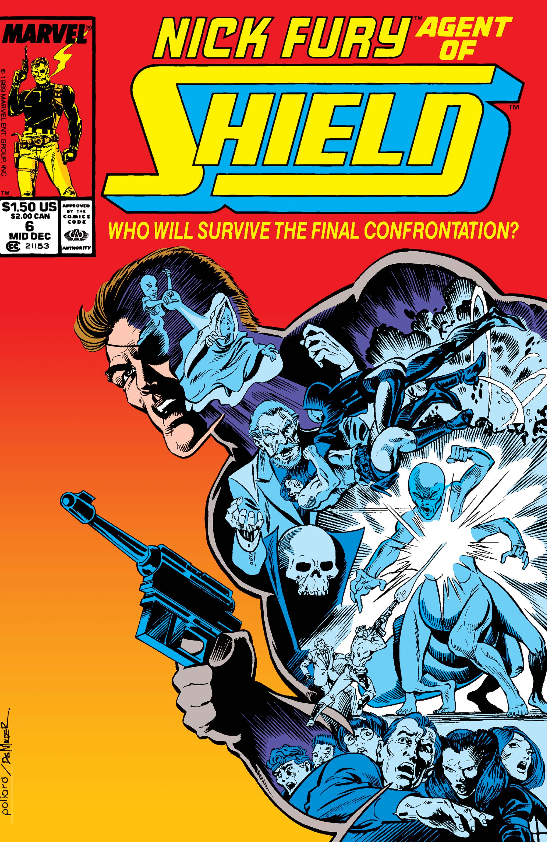 Nick Fury, Agent of S.H.I.E.L.D. (1989) #6