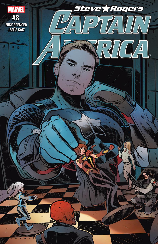 Captain America: Steve Rogers (2016) #8
