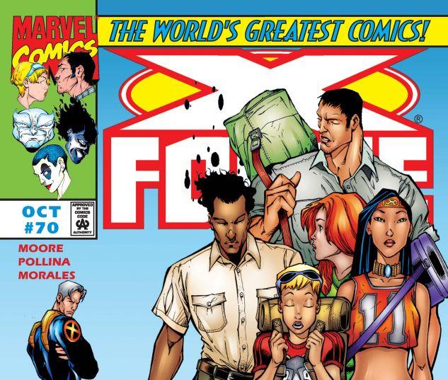 X-Force (1991) #70